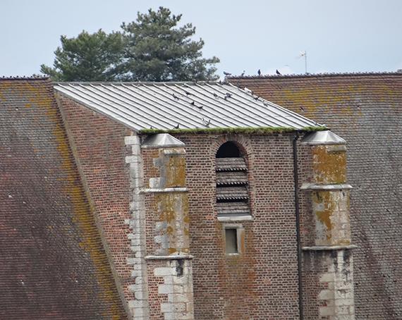 zoom sur clocher de chatillon