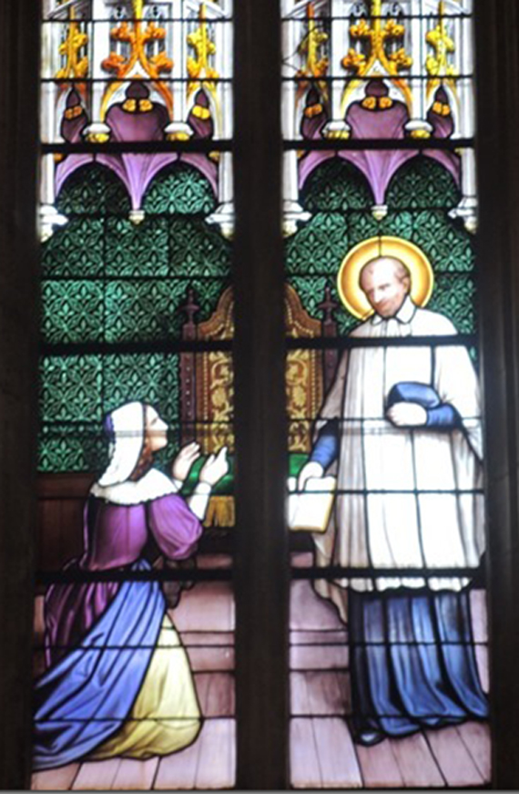 vitrail saint vincent